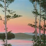 Cooper Sunset Birches Art Print