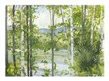 Summer Lake III Art Print