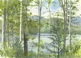 Summer Lake IV Art Print