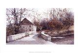 The Mill Bridge Art Print
