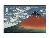 Red Fuji Art Print