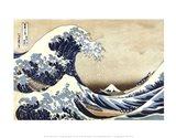 The Great Wave at Kanagawa Art Print