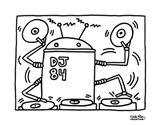 DJ 84, 1983 Art Print