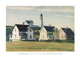 Lighthouse Village (also known as Cape Elizabeth), 1929 Art Print