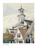 Methodist Church Tower, 1930 Art Print