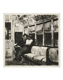Night on the El Train, 1918 Art Print