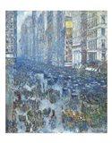 Fifth Avenue, 1919 Art Print