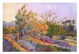 Desert Garden Art Print