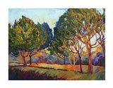 Ficus Mosaic Art Print