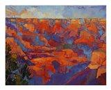 Grand Sunset (center) Art Print