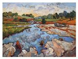 Hill Country Waters Art Print