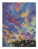 California Sky (top left) Art Print