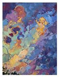 California Sky (top right) Art Print