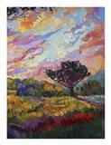 California Sky (bottom right) Art Print