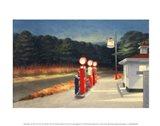 Gas, 1940 Art Print