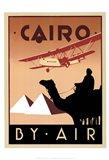Cairo by Air Art Print