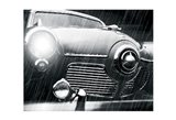 Studebaker Rain Art Print