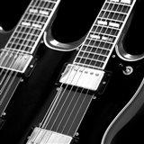 Classic Guitar Detail I Art Print