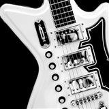 Classic Guitar Detail II Art Print