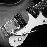 Classic Guitar Detail V Art Print