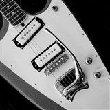 Classic Guitar Detail VI Art Print