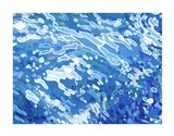 Swirling Tide Art Print