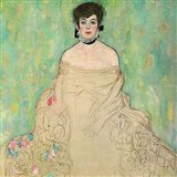 Portrait of Amalie Zuckerkandl (unfinished), 1917-1918 Art Print