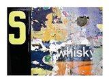 Whisky Layers Art Print