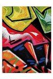 Colorful Graffiti (detail Art Print