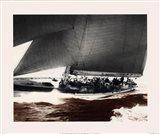 Mariner's Museum - Rainbow's Run 1934 Vintage Maritime Art Print