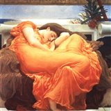 Flaming June Art Print