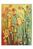 Dance of the Poppy Pods Art Print