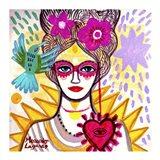 Lady Antoniette Art Print