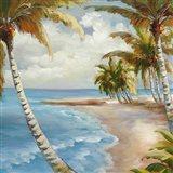 Palm Paradise Art Print