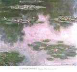 Nympheas, Water Landscape, 1907 Art Print