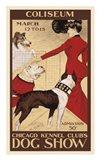 Chicago Kennel Club's Dog Show Art Print