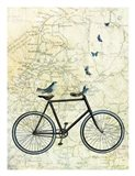 Bike Country Art Print