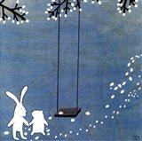 Follow Your Heart- Let's Swing Art Print