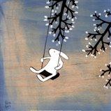 Follow Your Heart- Swinging Quietly Art Print