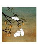 Sugar Plum Tree Art Print