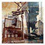 Wall Street 6 Art Print