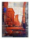 NY Downtown 14 Art Print
