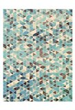 Grunge Geometry Art Print