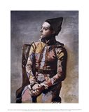 Portrait of a Harlequin Art Print