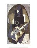 L'Homme a la Guitare, 1918 Art Print