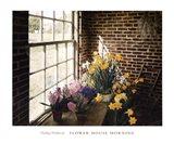 Flower House Morning Art Print