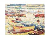 Port of L'Estaque, 1906 Art Print