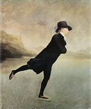 Reverend Walker Skating Art Print
