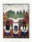 Flower Festival: Feast of Santa Anita, 1931 Art Print
