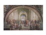 The School of Athens, c.1511 Art Print